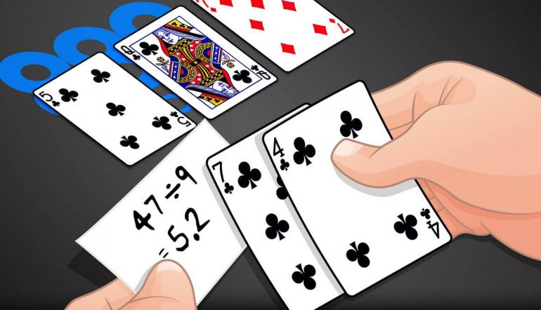 Как быстро рассчитать шансы банка в покере