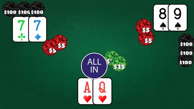 Коинфлип в покере